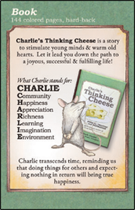 Charlie's Thinking Cheese Single Book